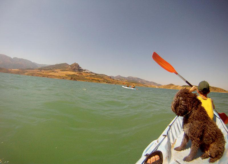 Kayak en Zahara